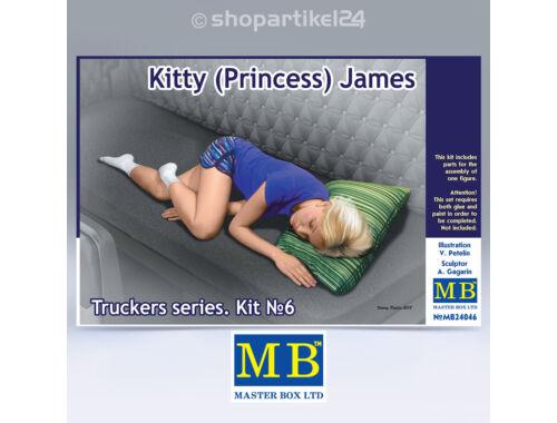 Master Box Truckers series.Kitty(Princess) Jemes 1:24 (24046)