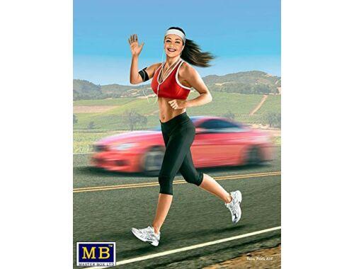 Master Box Jogging some miles. Tyra 1:24 (24050)
