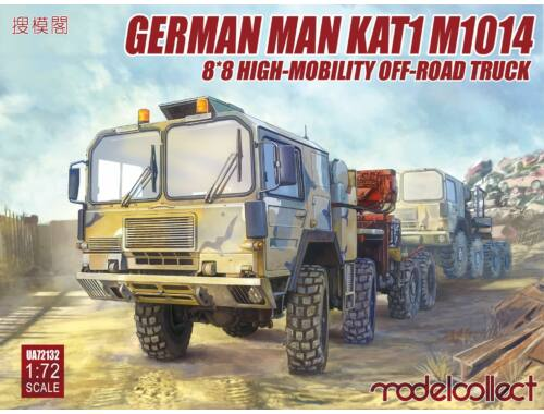 Modelcollect German MAN KAT1M1014 8*8 HIGH-Mobility off-road truck 1:72 (UA72132)