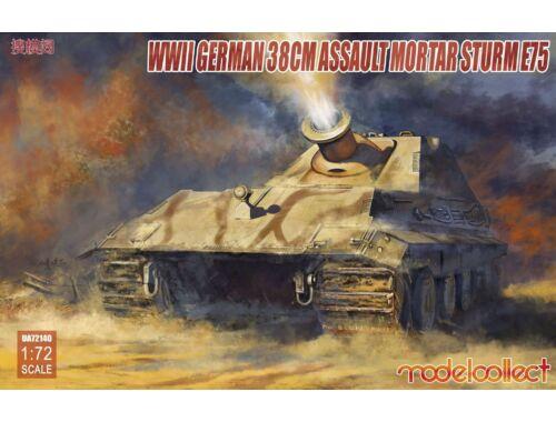 Modelcollect German WWII 38cm Assault Mortar SturmE75 1:72 (UA72140)