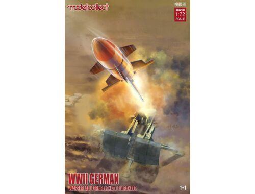 Modelcollect German WWII Wasserfall Ferngelenkte Flakrakete 1 1 pack 1:72 (UA72141)