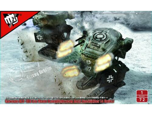Modelcollect Fist of War German WWII Blf-100A light fighting Mech 1:72 (UA72195)