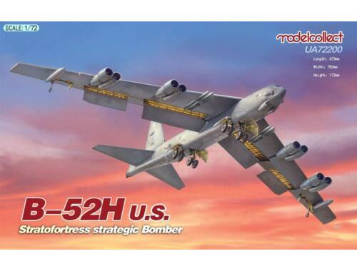 Modelcollect B-52H U.S. Stratofortress strategic Bomber 1:72 (UA72200)