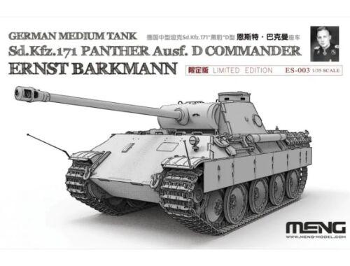 "Meng Panther ""Ernst Barkmann""limited Edition Sd.Kfz.171 1:35 (ES-003)"