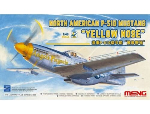 "Meng North American P-51D Mustang""Yelloe Nose 1:48 (LS-009)"