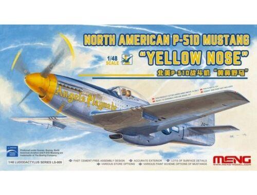 "Meng North American P-51D Mustang""Yelloe Nose 1:48 (LS-009)"
