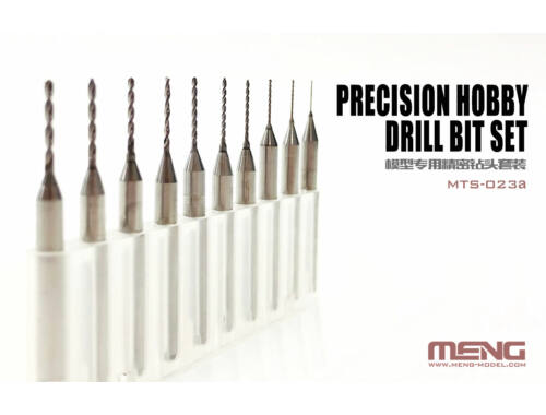 Meng Precision Hobby Drill Bit Set (MTS-023a)