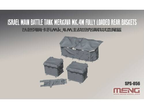 Meng Israel Main Battle Tank Merkava Mk.4M - detail upgrade kit 1:35 (SPS-056)