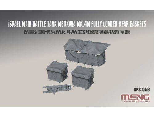 Meng Israel Main Battle Tank Merkava Mk.4M - detail upgrade kit 1:35 (SPS-056)