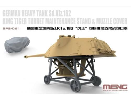 Meng German Heavy Tank Sd.Kfz.182 King Tiger Turret Maintenance Stand