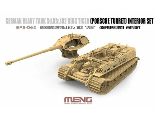 Meng German Heavy Tank Sd.Kfz.182 King Tiger (Porsche Turret) Interior Set 1:35 (SPS-062)