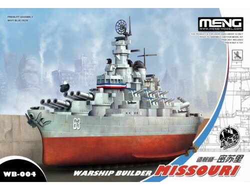 Meng Missouri Warship Builder WW Toons Model (WB-004)