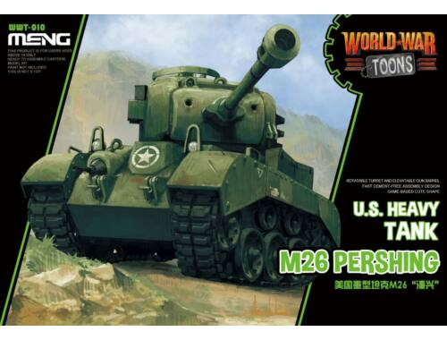 Meng U.S. Heavy Tank M26 Pershing WW Toons Model (WWT-010)