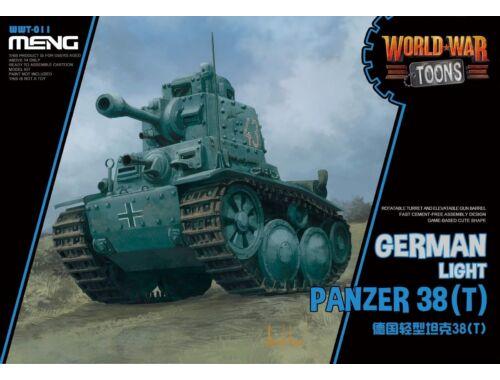 Meng German Light Panzer 38(T) WW Toons Model (WWT-011)