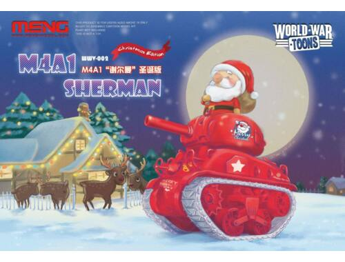 Meng M4A1 Sherman WW Toons Model Christmas Edition (WWV-002)