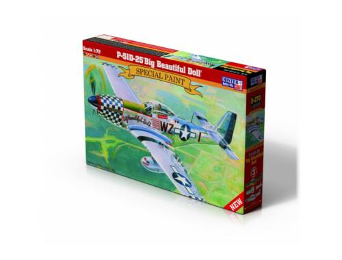 "Mirstercraft P-51D-25 ""Big Beautiful Doll"" 1:72 (D-270)"