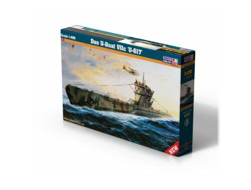 """Mirstercraft Das U-Boot VIIC """"U-617"""" 1:400 (D-290)"""