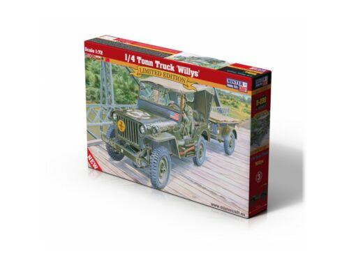 """Mirstercraft 1/4 Tonn Truck """"Willys"""" 1:72 (D-299)"""