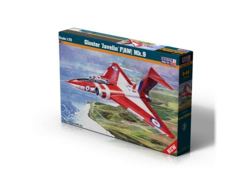 "Mirstercraft Gloster""Javelin"" F(AW) MK.9 1:72 (D-44)"