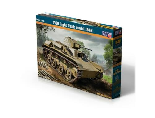 Mirstercraft T-60 Light Tank 1:35 (E-02)