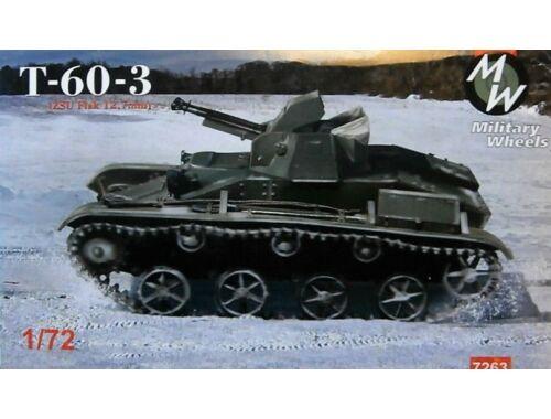 Military Wheels T-60-3 (ZSU Flak 12,7 mm) 1:72 (7263)