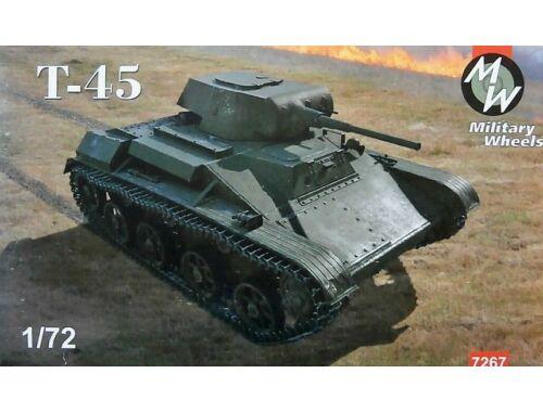 Military Wheels T-45 Light Tank 1:72 (7267)