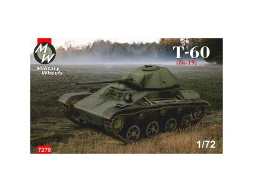 Military Wheels T-60 (Zis-19) 1:72 (7279)