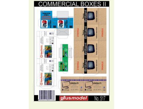 Plus Model Commercial boxes II 1:35 (517)