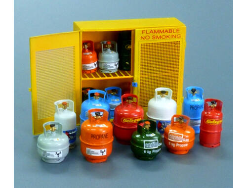 Plus Model Gas bottles 1:35 (518)