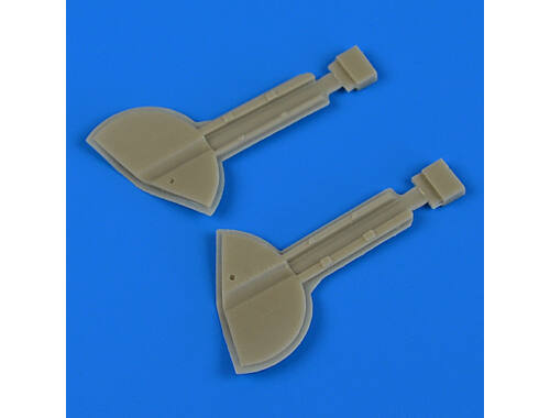 Quickboost Spitfire Mk.Ixc undercarriage covers for Revell 1:32 (32201)
