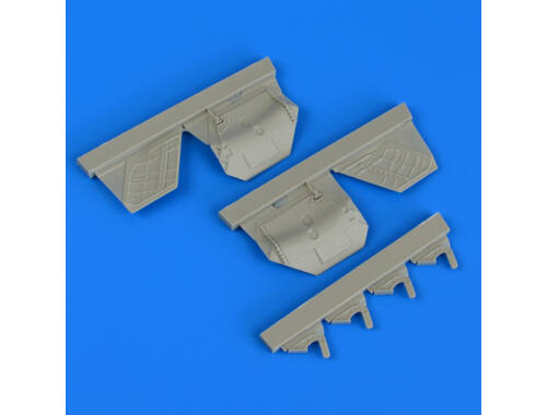 Quickboost F/A-22A Raptor undercarriage covers for HASEGAWA 1:48 (48798)