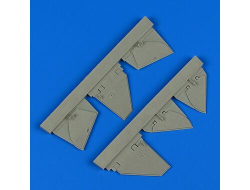 Quickboost Defiant Mk.I undercarriage covers f.Trum 1:48 (48799)