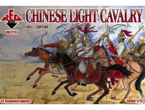 Red Box Chinese light cavalry,16-17th century 1:72 (72117)