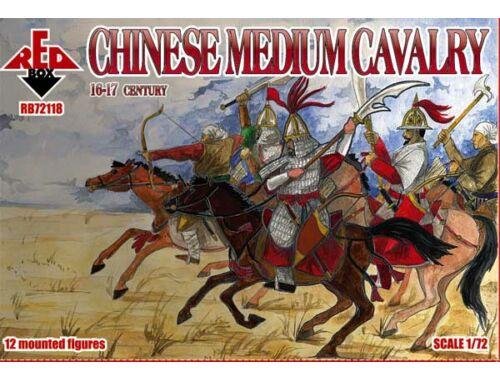 Red Box Chinese medium cavalry, 16-17th century 1:72 (72118)