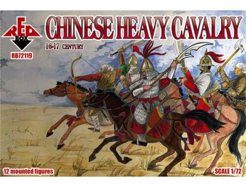 Red Box Chinese heavy cavalry, 16-17th century 1:72 (72119)