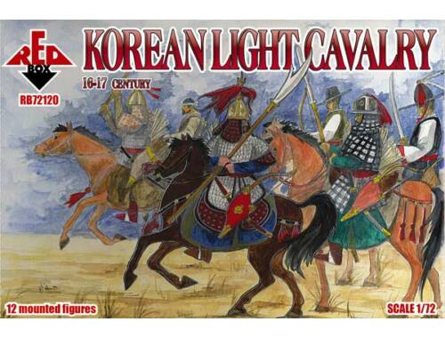 Red Box Korean light cavalry, 16-17th century 1:72 (72120)