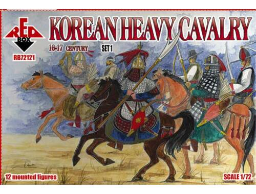 Red Box Korean heavy cavalry,16-17th centurySet1 1:72 (72121)