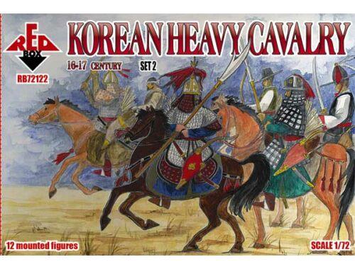 Red Box Korean heavy cavalry,16-17th centurySet2 1:72 (72122)