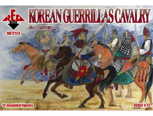 Red Box Korean guerrillas cavalry,16-17th centur 1:72 (72123)
