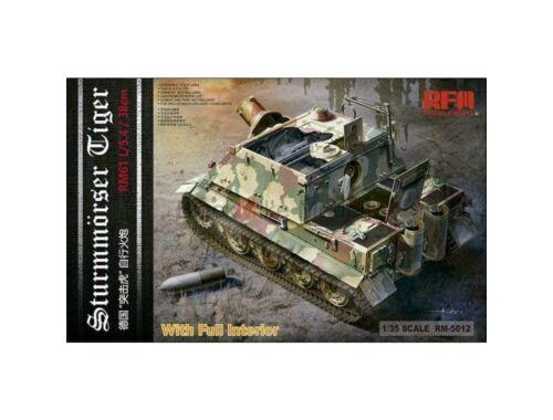 Rye Field Model Sturmtiger w/ full interior 1:35 (5012)