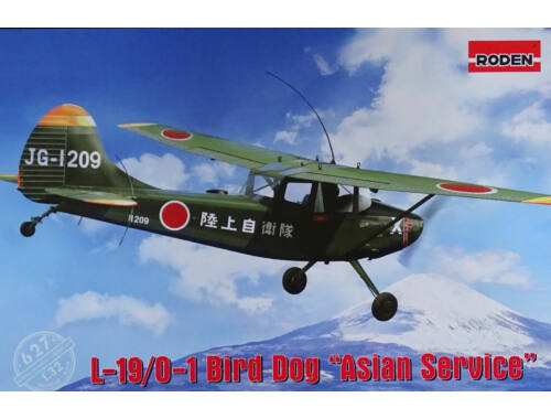 "Roden L-19/O-1 Bird Dog ""Asian service"" 1:32 (627)"