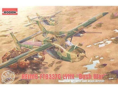 """Roden Reims FTB337G Lynx """"Bush war"""" 1:32 (628)"""