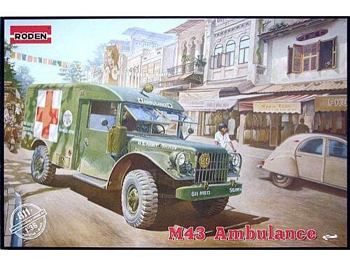 Roden M43 3/4 ton 4x4 Ambulance Truck 1:35 (811)