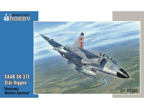 """Special Hobby SAAB SK-37E Stör-Viggen """"Electronic Warfare Agressor"""" 1:48 (48150)"""