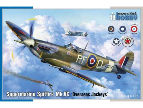 "Special Hobby Supermarine Spitfire Mk.VC ""Overseas Jockeys"" 1:48 (48195)"