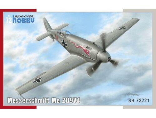 Special Hobby Messerschmitt Me 209V-4 1:72 (72221)