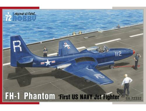"""Special Hobby FH-1 Phantom """"First US NAVY Jet Fighter"""" 1:72 (72332)"""