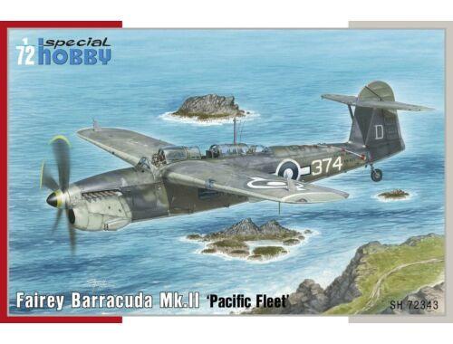 Special Hobby Fairey Barracuda Mk.II Pacific Fleet 1:72 (72343)