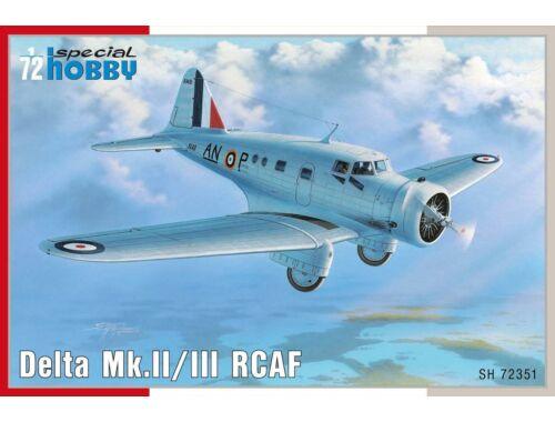 Special Hobby Delta Mk.II/III RCAF 1:72 (72351)