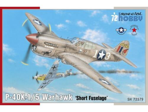Special Hobby P-40K-1/5 Warhawk 1:72 (72379)